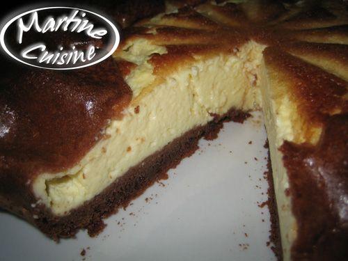 Gateau au fromage blanc chocolat